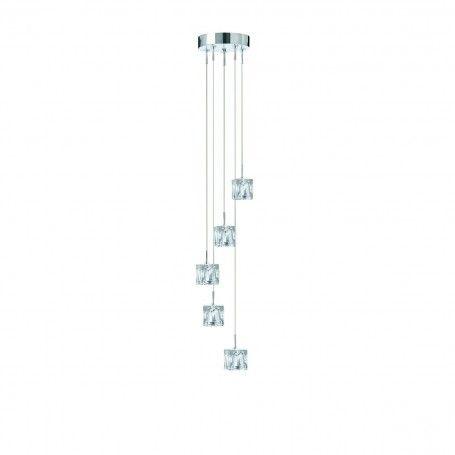 Krištáľové závesné svietidlo Searchlight 6775-5-LED Searchlight - 1