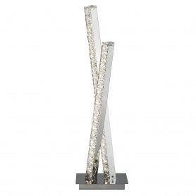 Krištáľová stojanová lampa Searchlight EU2111CC Searchlight - 1